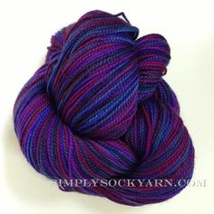 Simply Socks Yarn Company features AF Supersock Iris.