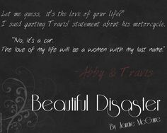 Beautiful Disaster by Jamie McGuire Quote!
