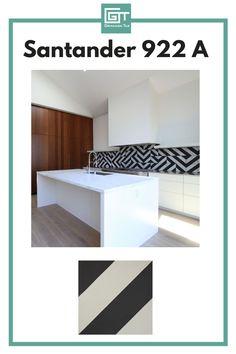 Kitchen Backsplash   Enhance your kitchen by adding a touch of our Santander cement tiles. Designer and Photographer: Tim Balon Contemporary Kitchen Design, Modern Contemporary, Encaustic Tile, Concrete Tiles, Kitchen Backsplash, Granada, Interior Design Inspiration, Interior And Exterior, Architects