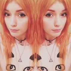 orange hair - ledamuir