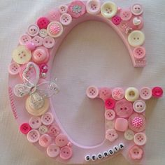 Buttons Baby Lovely Letters Wedding Mum Mother Gift
