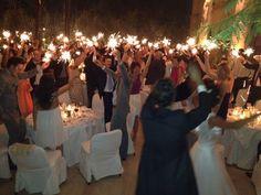 Party & celebration during the wedding at Les Deux Tours privatized