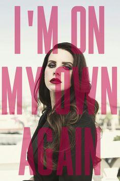 Lana Del Rey #LDR #The_Blackest_Day