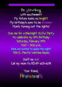 Ideas Birthday Invitations For Teens Sweet Sixteen Glow Sticks For 2019 Neon Birthday, 13th Birthday Parties, Birthday Ideas, Happy Birthday, 11th Birthday, Glow In Dark Party, Glow Party, Teenage Parties, Kid Parties