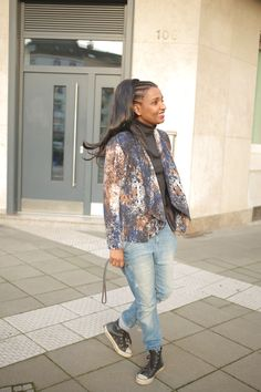 Tag 362: Baggy Jeans & Clip on Ponytail. Secondhand Styling to wear to work …
