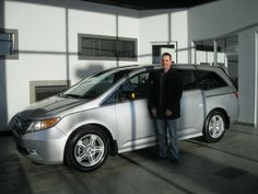 Congratulations Jeff on your 2013 Honda Odyssey Touring!