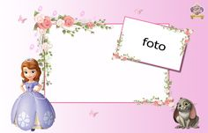 Princesa Sofía: Invitaciones para Imprimir Gratis. | Ideas y material gratis para fiestas y celebraciones Oh My Fiesta!