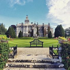 This 19th-century castle, with on-site falconry and a dining room lit only by candles, could be the set of a movie -- or it could be your next vacation. @TheAdareManor  Photo by @yoorisae. #AdareManor #ifthesewallscouldtalk