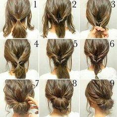 #hairgoals #hair #hairstyles #fashion #longhair #hairtutorial #hairstylesrecogido