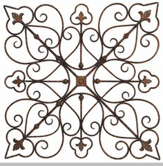 wrought iron wall decor iron accents
