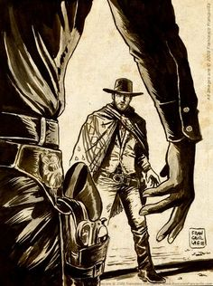 The Man With No Name - Francesco Francavilla