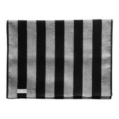 Laudeliina 50x150 pellava musta - Tokmanni