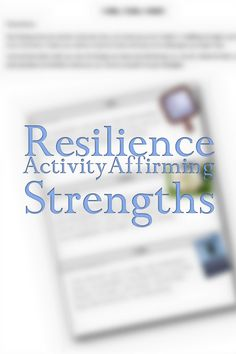 Resilience Activities