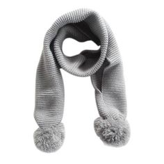#5 High Quality 2016 Amazing Winter Children Kids Scarf Solid Color Little Boy Girl Knitted Scarves 2-6Years