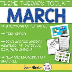 MARCH Theme Therapy for Speech and Language