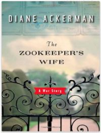 The Zookeeper's Wife-- after their zoo was bombed during WW2, the Polish zookeepers saved over 300 refugees from the Nazis by hiding them in the empty animal cages.