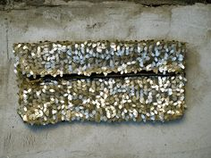 Sparkly+Sequin+Clutch+Pouch+Shimmer+Gold+Sequin+by+PlainCases,+$39.00