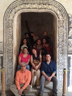 El grupo de hoy en el Gastrotour (Agosto,3) la familia de Martha y Miguel Osorio que la pasaron bárbaro según se.