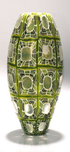"Giles Bettison, ""CHROMA"", vase, Murrini Glass"