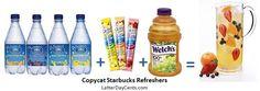 Copycat Starbucks Refreshers Recipes