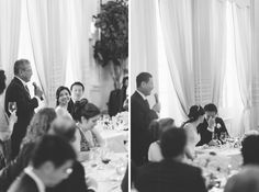 Wedding reception at the Lotos Club in NYC. Captured by NYC wedding photographer Ben Lau Photography.