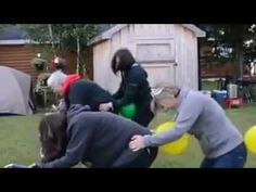 Balloon Games - The Humping Game - YouTube