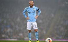 Download wallpapers David Silva, 4k, Manchester City, football, Spanish footballer, Premier League, football game