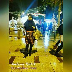 Ms. Ema in Gamis Batik Tulis Sinaran Looking classy elegant and fashionable....Merci   😙😙😙 SMS /WA 082281115732 , BBM D0503885, Path Aalina Batik, Line Aalina Batik, IG @aalinabatik, FB Aalina Batik.  #aalina #aalinabatik #aalinabatikdankebaya #aalinabatikindonesia #midicullote #jeanscullote #jeansbatik #jeans #batikcasual #casualethnic #casual #ootd #batikbordir #batikbagus #batikblouse #tenun #blustenun #handwoven #handwovenblouse #gamisbatikpremium #gamisbatiksinaran #gamisbatiktulis…