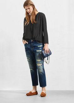 Boyfriend claudia jeans   VIOLETA BY MANGO