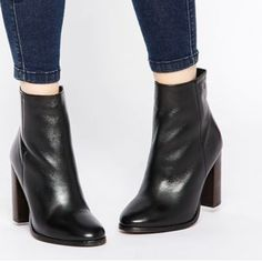 Kurt Geiger point toe booties Very high quality. In great condition worn once. I'm obsessed with these booties but they're just too small for me. Listed brand for exposure. Offers welcome Jeffrey Campbell Shoes Ankle Boots & Booties