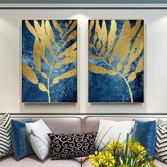 Frames On Wall, Framed Wall Art, Canvas Wall Art, Modern Canvas Art, Acrylic Canvas, Gold Leaf Art, Gold Art, Art Feuille D'or, Arte Digital Fantasy
