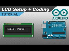 How to Set Up and Program an LCD on the Arduino - YouTube