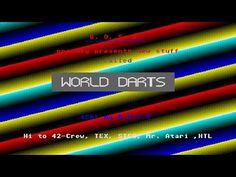 World Darts Cracktro by B.O.S.S., 1988   Atari ST   1440p/50fps - YouTube