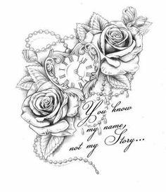 dessins de tatouage 2019 Half sleeve tattoos for men and women ideas 46 - Tattoo Designs Photo Half Sleeve Tattoos For Guys, Full Sleeve Tattoos, Woman Sleeve Tattoos, Tattoo Sleeves Women, 21 Tattoo, Tattoo Quotes, Tattoo Arm, Thigh Sleeve Tattoo, Clock Tattoo Sleeve