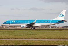Embraer 190STD, KLM Cityhopper, PH-EZZ, cn 19000654, owner BOC Aviation. Amsterdam, Netherlands, 25.10.2015.