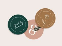 Sticker Packaging Labels by Ava Victoria. Light, elegant and linear packaging style which clearly show the brand style and consistency throughout. #design #packaging #packagingideas #designer #designideas #colour #stickers #typography