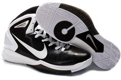 Air Foamposite Nike Hyperdunk 2010 Black White [Nike Hyperdunk 2010 - Timeless Nike Hyperdunk 2010 Black White sneakers are must have. The lightweight shoes own a predominately black Flywire upper. White Nike swooshes on the sides look large and notabl Air Max Sneakers, Sneakers Nike, Nike Foamposite, White P, Nike Air Max, Touch, Free Shipping, Shoes, Fashion