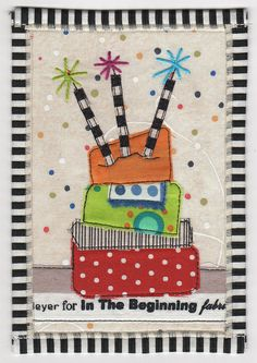 Wacky Birthday Cake Postcard | Flickr - Photo Sharing!