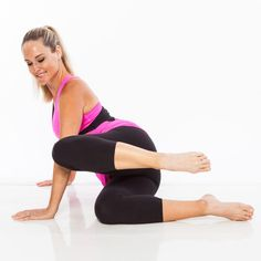 Home Barre Workout: Ballet Belly, Buns, and Thighs | Posted By: AdvancedWeightLossTips.com