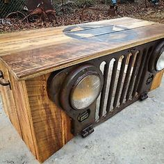 Jeep table I want Car Part Furniture, Automotive Furniture, Automotive Decor, Furniture Movers, Furniture Design, Furniture Dolly, Car Parts Decor, Jeep Grill, Man Cave Home Bar