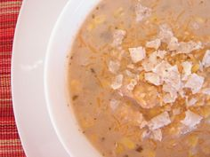 The Royal Cook: Slow Cooker Creamy Green Chile Enchilada Soup