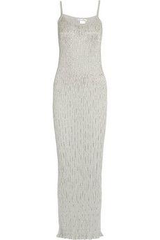 Oscar de la Renta Embellished silk gown | THE OUTNET