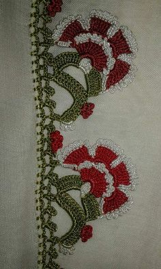 Kate's Crochet World Cotton Crochet, Irish Crochet, Crochet Lace, Crochet Borders, Crochet Stitches, Hairpin Lace, Crochet World, Crochet Flowers, Needlework