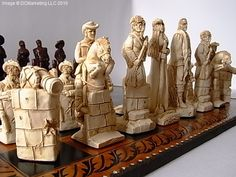 Alamo chess set