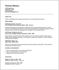 bank executive resume examples top 10 resume objective examples and writing tips
