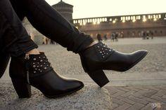 Botins pretos