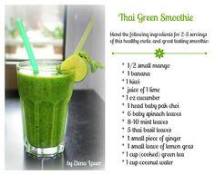 Thai Green Smoothie | Lisa-Marie BodyRock.Tv Host