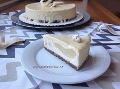 Cheesecake s hruškami, zázvorem a bílou čokoládou Gimme Some Sugar, Cheesecake Brownies, Sweet Desserts, Vanilla Cake, Eat, Cupcakes, Food, Advent, Pizza