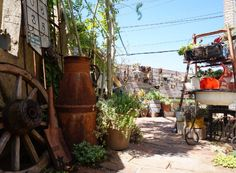 小さな庭の画像 by mayuno(I.V.Garden)さん | 小さな庭と手作りガーデニングコンテストとわが家の多肉スペースと今日の一枚と錆び風とガーデニングとジャンクガーデンとサビとビンテージ感と庭改造中