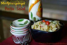 Mediterranean Pasta Salad | Carrie's Experimental Kitchen